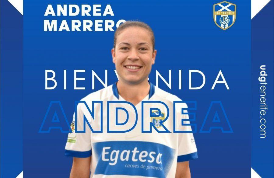 Andrea Marrero ha vuelto
