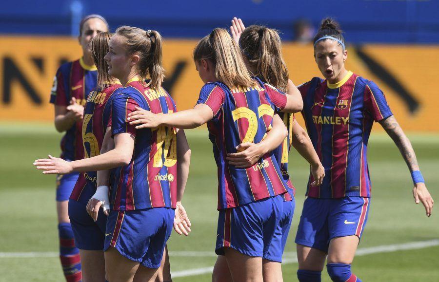 El Barcelona golea 9-0 al Dépor