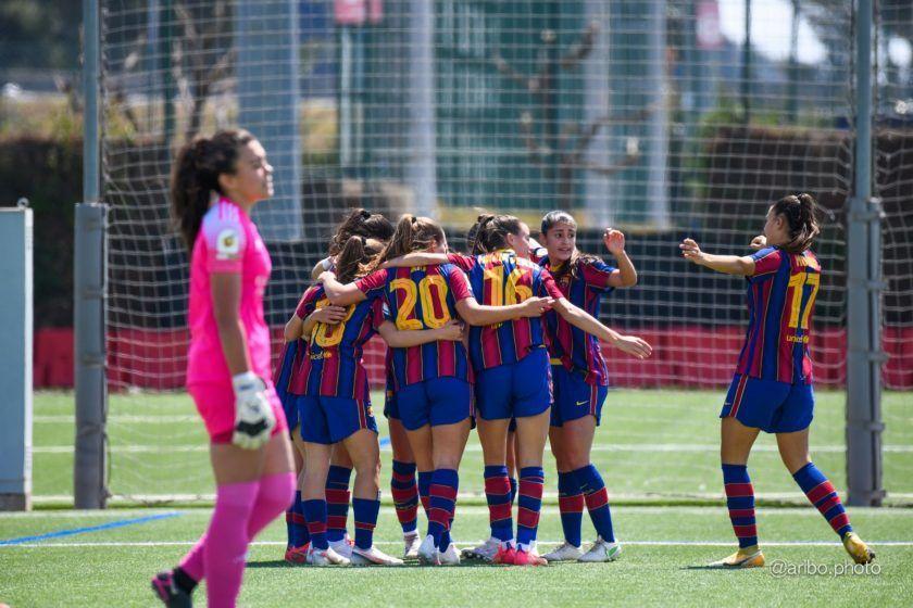 El Barcelona B vence al Madrid CFF B