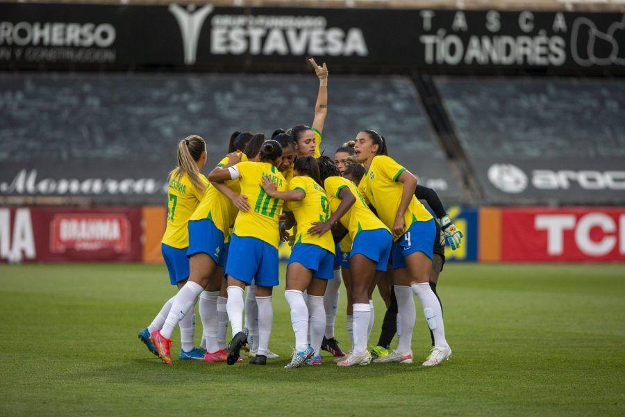 Brasil y Canadá empatan