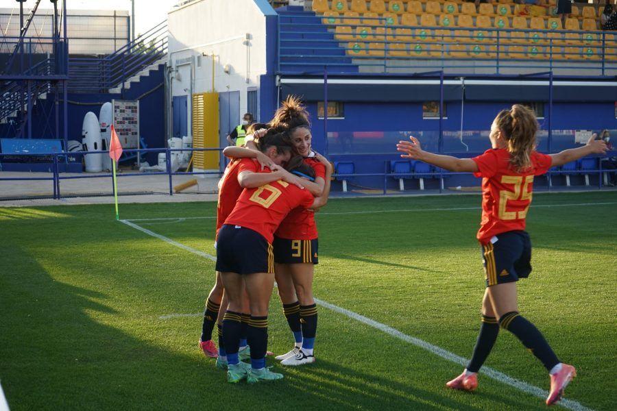La Selección española absoluta