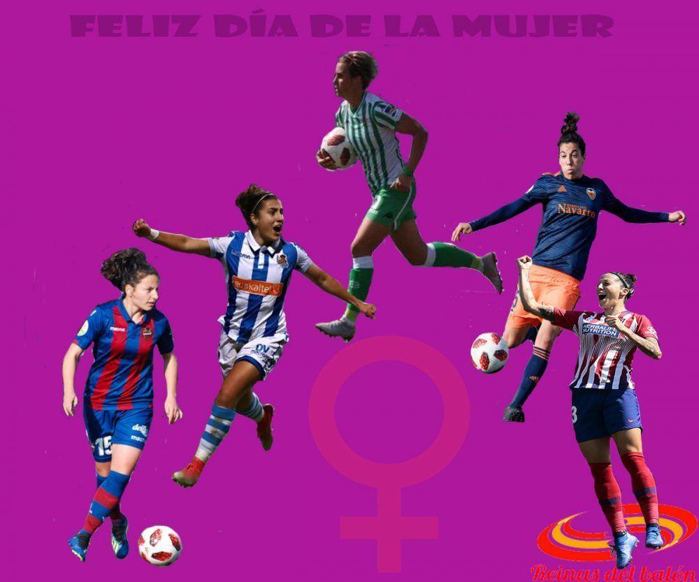 Editorial Dia Internacional De La Mujer Reinas Del Balon Que sea un buen día para ti, mujer que mereces tener un día dedicado sólo a ti. reinas del balon