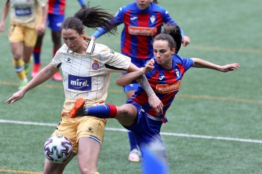 Crónica del Eibar - Espanyol de Primera Iberdrola