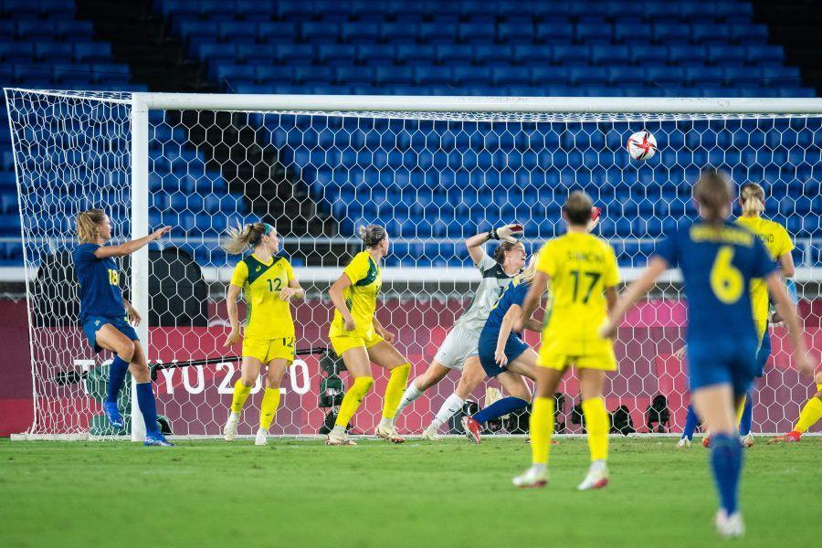 Suecia en la final - gol