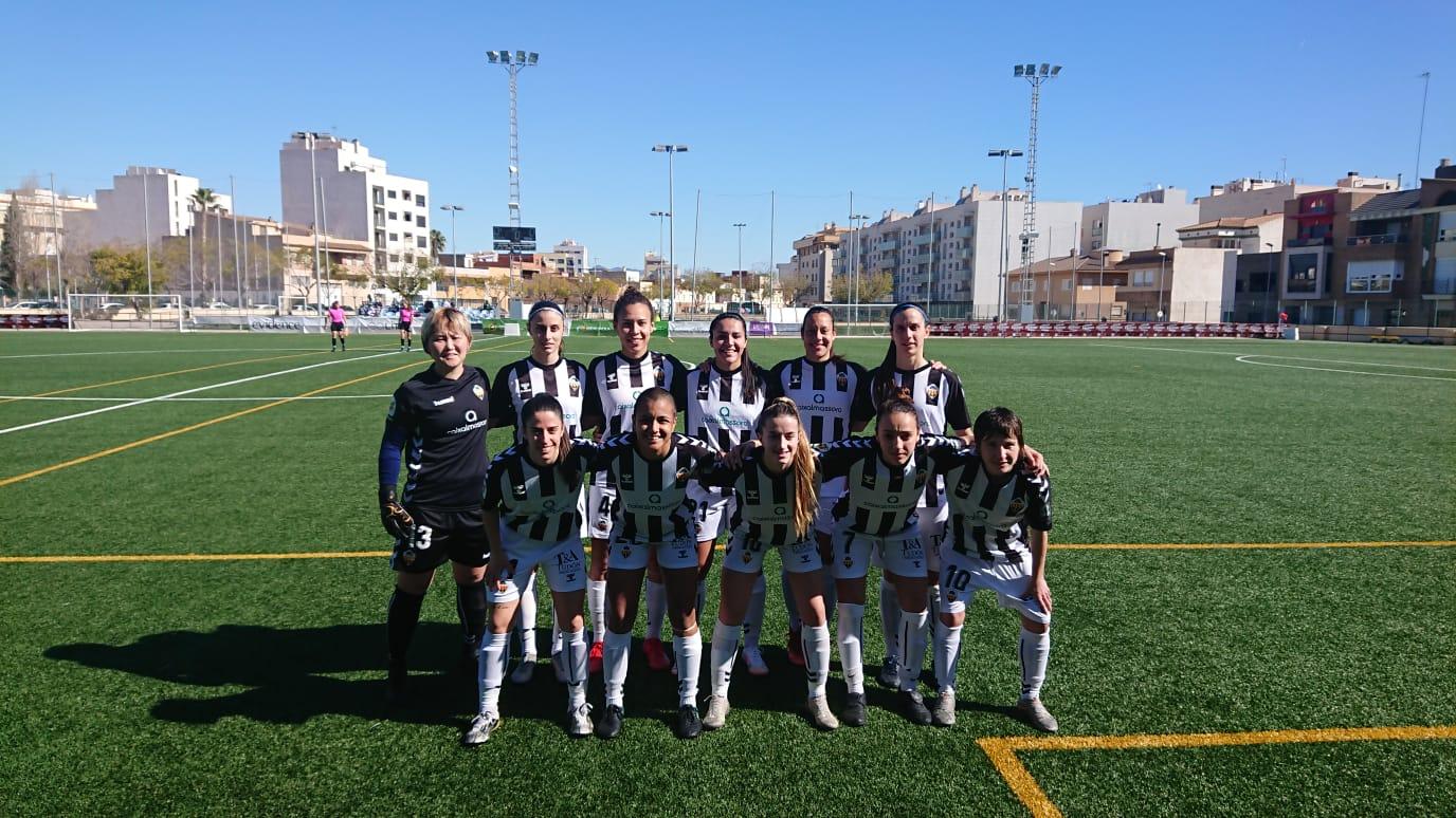 Joventut Almassora Femarguín empate