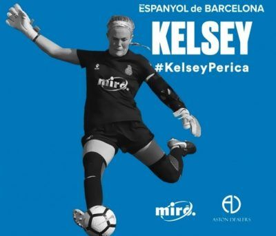 Por otra parte, el club perico también ha cerrado el fichaje de la portera Kelsey Eileen Dossey, jugadora que ha firmado hasta el próximo 31 de mayo de 2020.  La guardameta, de 23 años (13/07/1996, Tennessee, EE.UU.), procede del Football Femminile Lugano 1976, club al que se unió para la UEFA Women's Champions League.  Antes de pasar por el club suizo, en su etapa de estudiante durante 4 años en la universidad de Missouri, Kelsey jugó en laWomen's Premier Soccer League con el Fire & Ice.