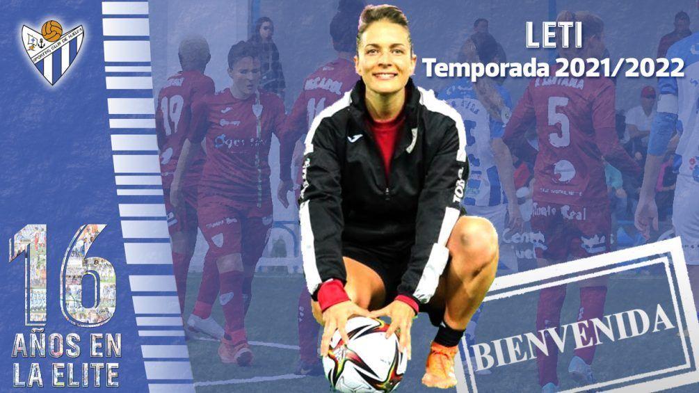 Sporting de Huelva Leticia Méndez