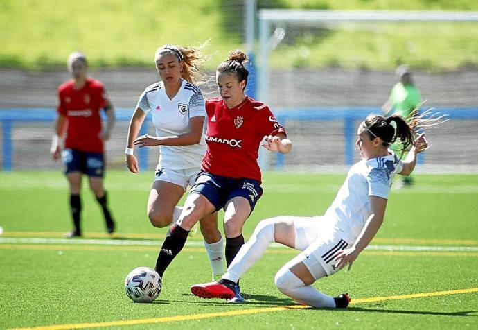 Madrid CFF B - Osasuna ascenso femenino