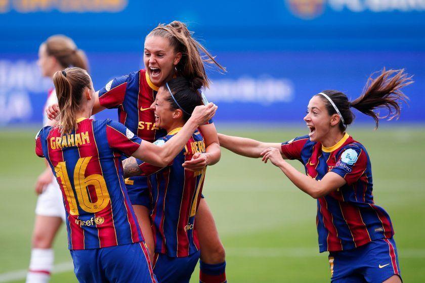 Rueda de prensa del Barcelona