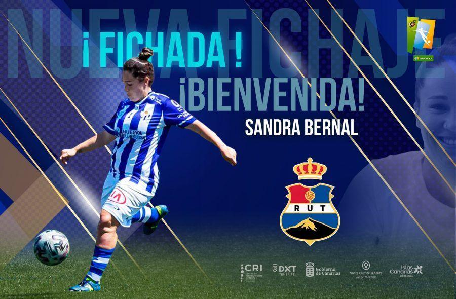 Sandra Bernal a la conquista canaria