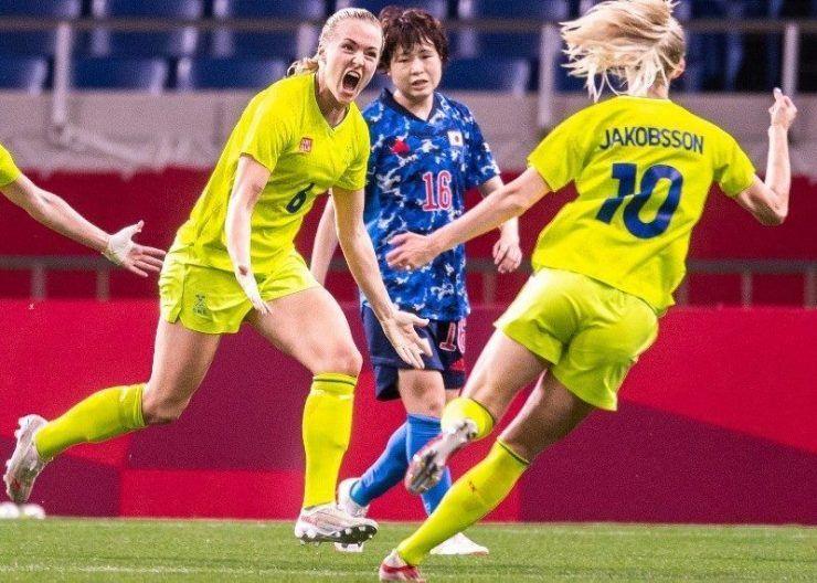 Suecia vence a Japón