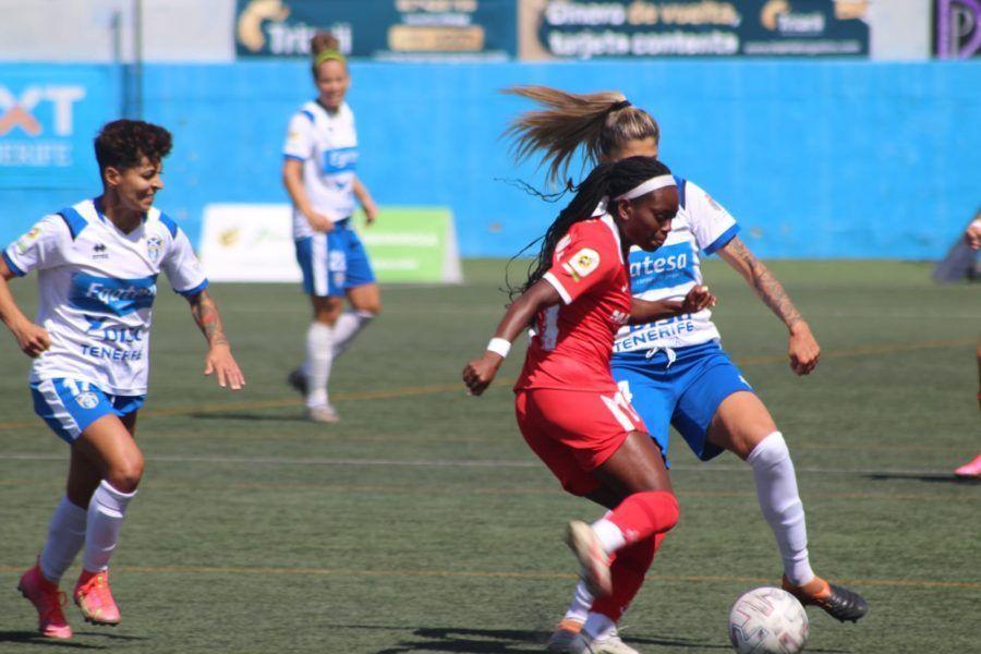 victoria de la UDG Tenerife frente al Sevilla