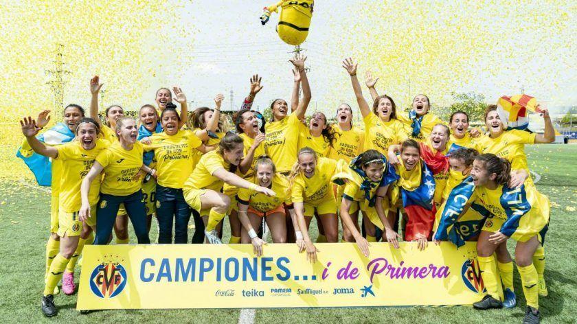 El Villarreal logra el ascenso tras golear al Cáceres