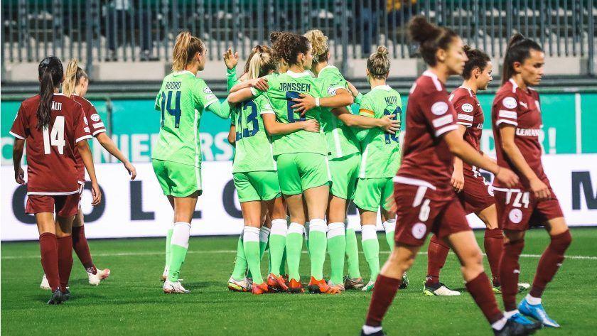 El Wolfsburgo vence